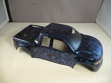 RAPTOR BODY SHELL FOR TRAXXAS E-REVO 1/16 SCALE - AIRBRUSHED CANDY BLUE MARBLE