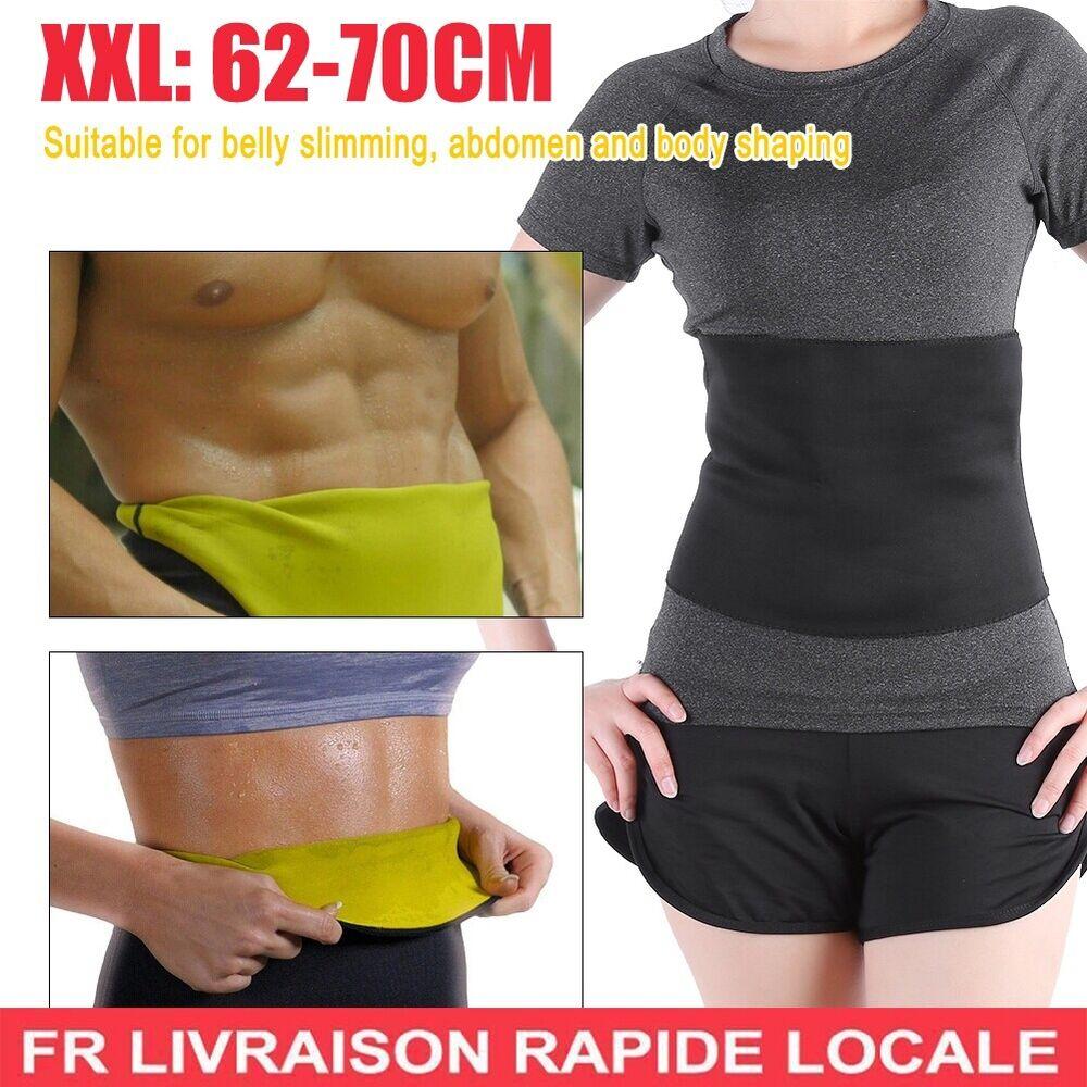 Ceinture De Sudation Fitness Slim Sauna Hot Bodyshaper Minceur Gaine Xxl Fr