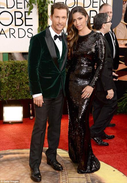 Men Celebrity Style Wedding Grooms Tuxedo Casual Green Velvet Coat
