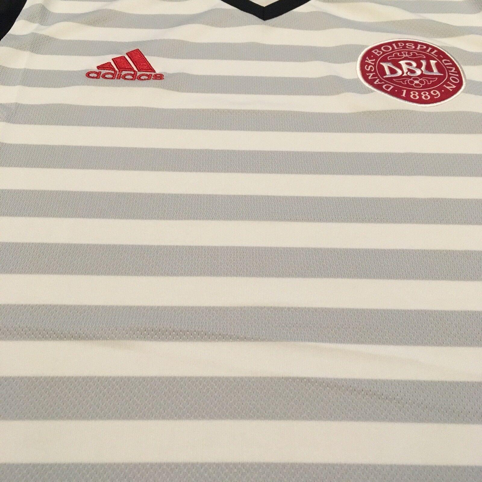244b6896d7f ... 2016 Denmark Away Jersey Medium Medium Medium Adidas Danish Soccer  Football NEW 07e65d ...