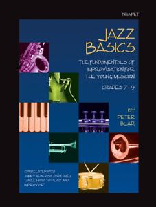 """""""jazz Basics"""" Les Fondamentaux De L'improvisation Music Book-trompette-neuf En Promotion!!!-ew On Sale!! Fr-fr Afficher Le Titre D'origine"""