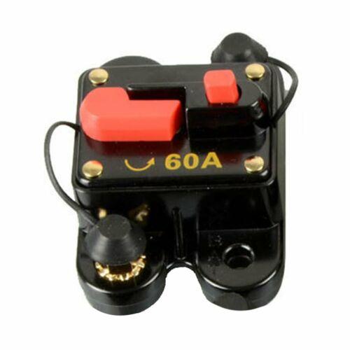 300A//200A//100A//60Amp DC Circuit Breaker Car Auto Marine Stereo Audio Fuse 12V GF