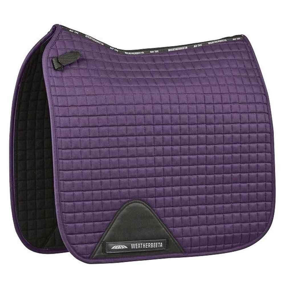 Weatherbeeta Prime Dressage Saddle Pad Purple Pennan Full
