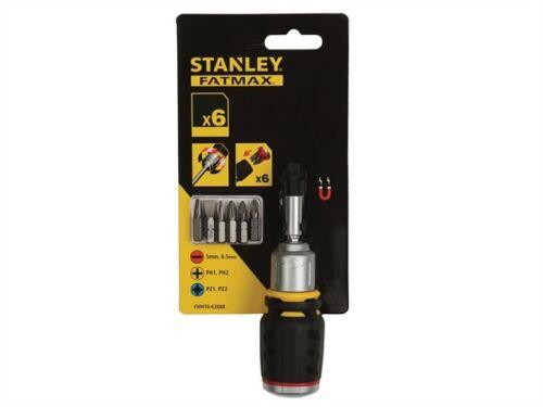 Stanley STA062688 FatMax Cliquet Tournevis Stubby