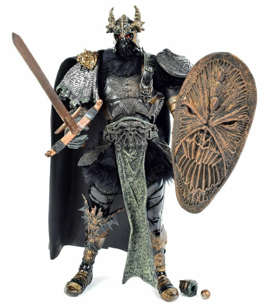 DARK AGES SPAWN - SKULLSPLITTER -THE VIKING AGE - MCFARLANE TOYS SERIES 22 R3