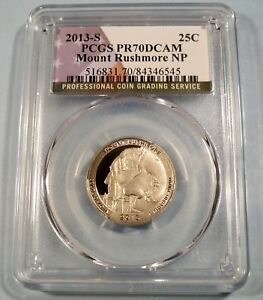 2013 S 10C Clad Roosevelt Dime PCGS PR70DCAM