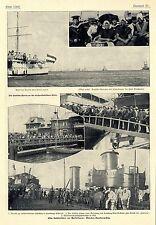 Hamburg Alsterlust Schüler besichtigen Patricia der Hamburg- Amerika- Linie 1904