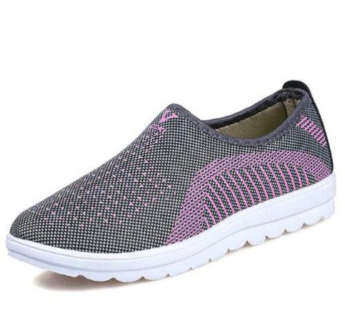 2019 Summer Mesh Men Women Casual Shoes Cotton Loafers Fashion Flats Outdoor F//S