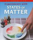 Experiments with States of Matter by Trevor Cook (Hardback, 2009)