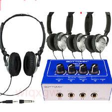 Headphone Earphone Amplifier Splitter Distribution Amp