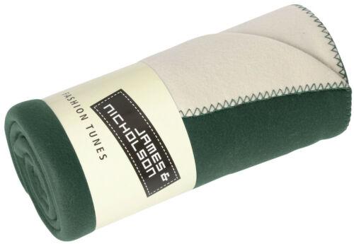 James Nicholson JN952 Hochwertige zweischichtige Fleecedecke Decke