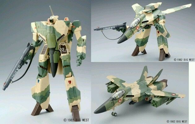 Macross   Robotech Yamato 1 48 VF-1A Low Visibility Edition (Wood Land Colour)