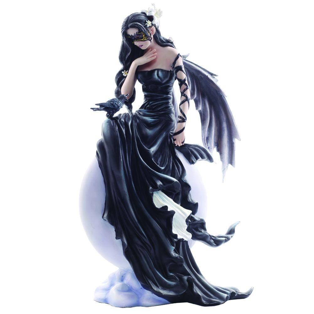 Prima de cielos oscuros 28 Cm de hadas FAERIE Fantasía Gótica Estatua Figura Adorno Regalos