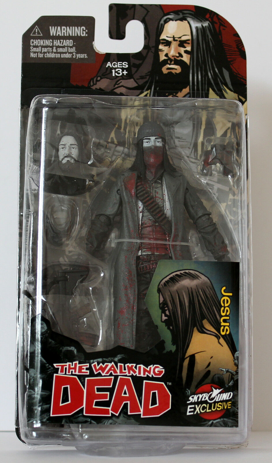 McFarlane, Skybound Exclusiv, Actionfigur, The Walking Dead Jesus, NEU & OVP