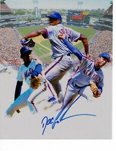 Dwight-Gooden-Doc-signed-8x10-photo-NY-Mets-Yankees-MLB-Baseball-auto-autograph