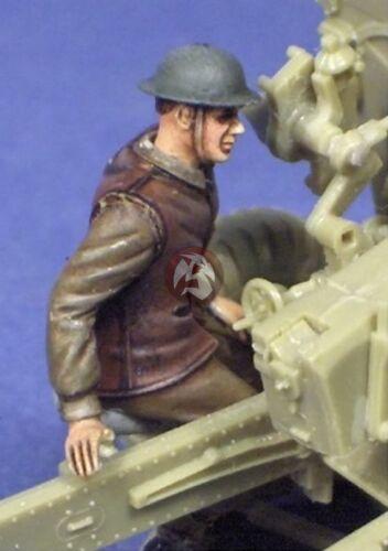 "355618 25 pounder Crew Resicast 1//35 British Artillery Gun Crew /""Layer/"""