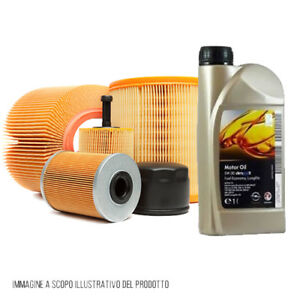 Kit-Inspeccion-4-Filtros-GM-5W30-Opel-Zafira-A-2-0-De-63Kw-86Cv-KF0023-Fo