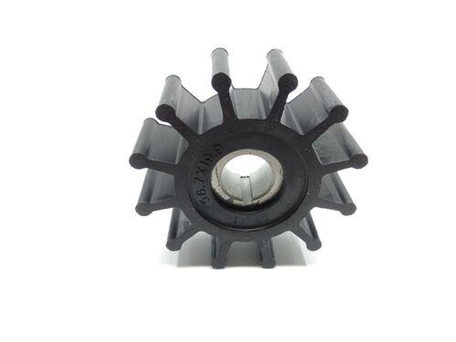 Sherwood Impeller 10077K Onan 132-0379 Chris Craft Westerbeke Stainless insert