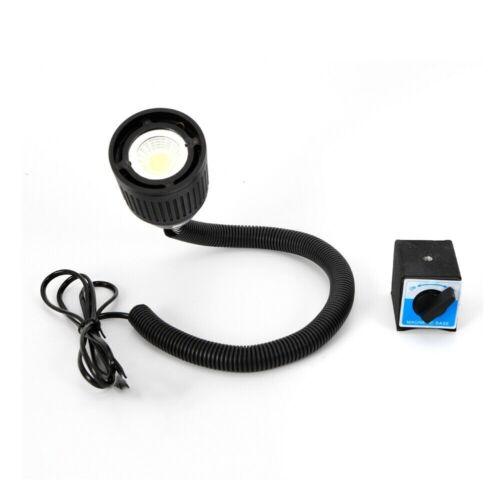 AC 110V-220V 5W LED Lamp Sewing Machine Magnetic Base Working Light New