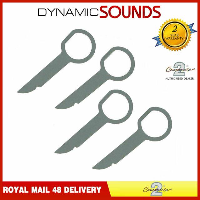 CD RADIO STEREO REMOVAL KEYS PINS 5000C 6000 6006 CDC FOR FORD Set of 4 Keys