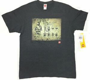 Lego-TOY-FIGURE-PATENT-BLUEPRINT-T-Shirt-NWT-Licensed-amp-Official