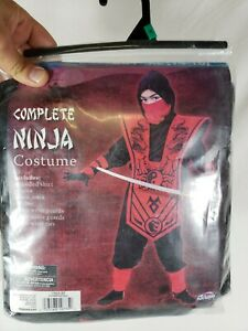 14-16 Fun World Complete Ninja Costume Size XL