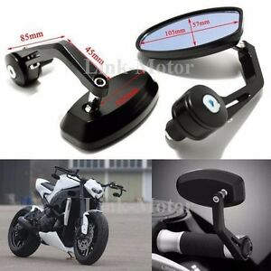 Motorcycle 7 8 Quot Handlebar End Mirrors For Ducati Monster