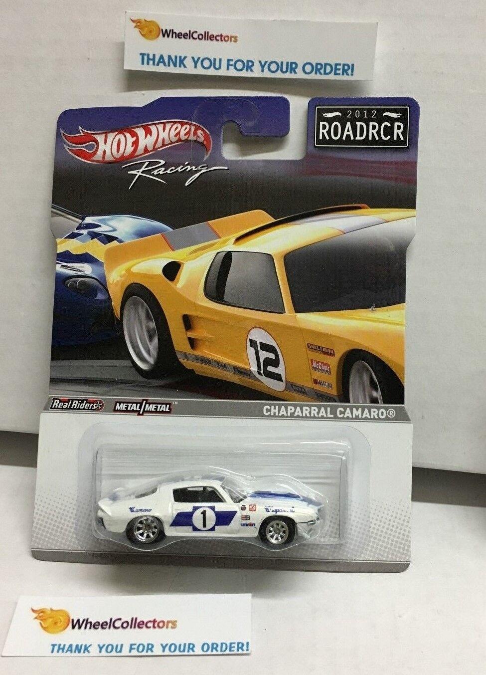 Racing Road Racers Series  Chaparral Camaro  2012 Hot Hot Hot Wheels  ROADRCR  G53 99a826