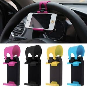 Voiture-Volant-Titulaire-Montage-Support-Universel-Support-PR-Telephone-GPS