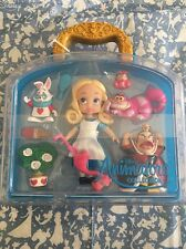 "Disney Store Alice in Wonderland Animator 5"" Toddler Doll Box Play Set Figure"