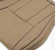 2001-02-Toyota-4Runner-leather-Seat-cover-L-H-driver-bottom-tan-OEM-Replacement