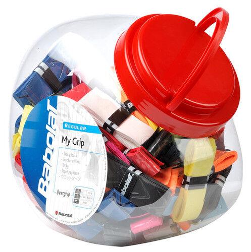 Babolat Mein Griff Tennisschläger Overgrip Tube mit 70 gemischte Farben