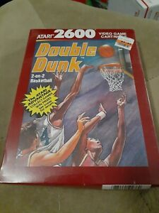DOUBLE-DUNK-for-ATARI-2600-FACTORY-SEALED-FREE-SHIPPING