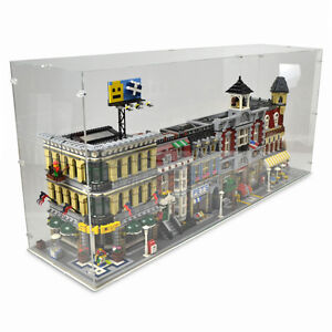 Acrylic display box case to fit lego 4x lego modular for Case lego city