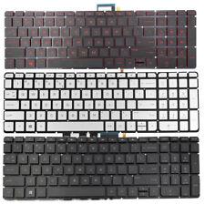 English keyboard For HP ENVY m7-u109dx m7-u011dx 17-u273cl//u175nr//u177nr backlit