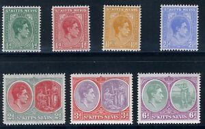 St-Kitts-Nevis-1938-KGVI-Group-CV-30-MNH-U923