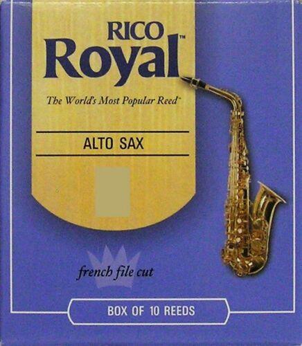 Fabr. 10 Blatt für Altsaxophon Rico Royal Stärke 2 made in USA Abverkauf