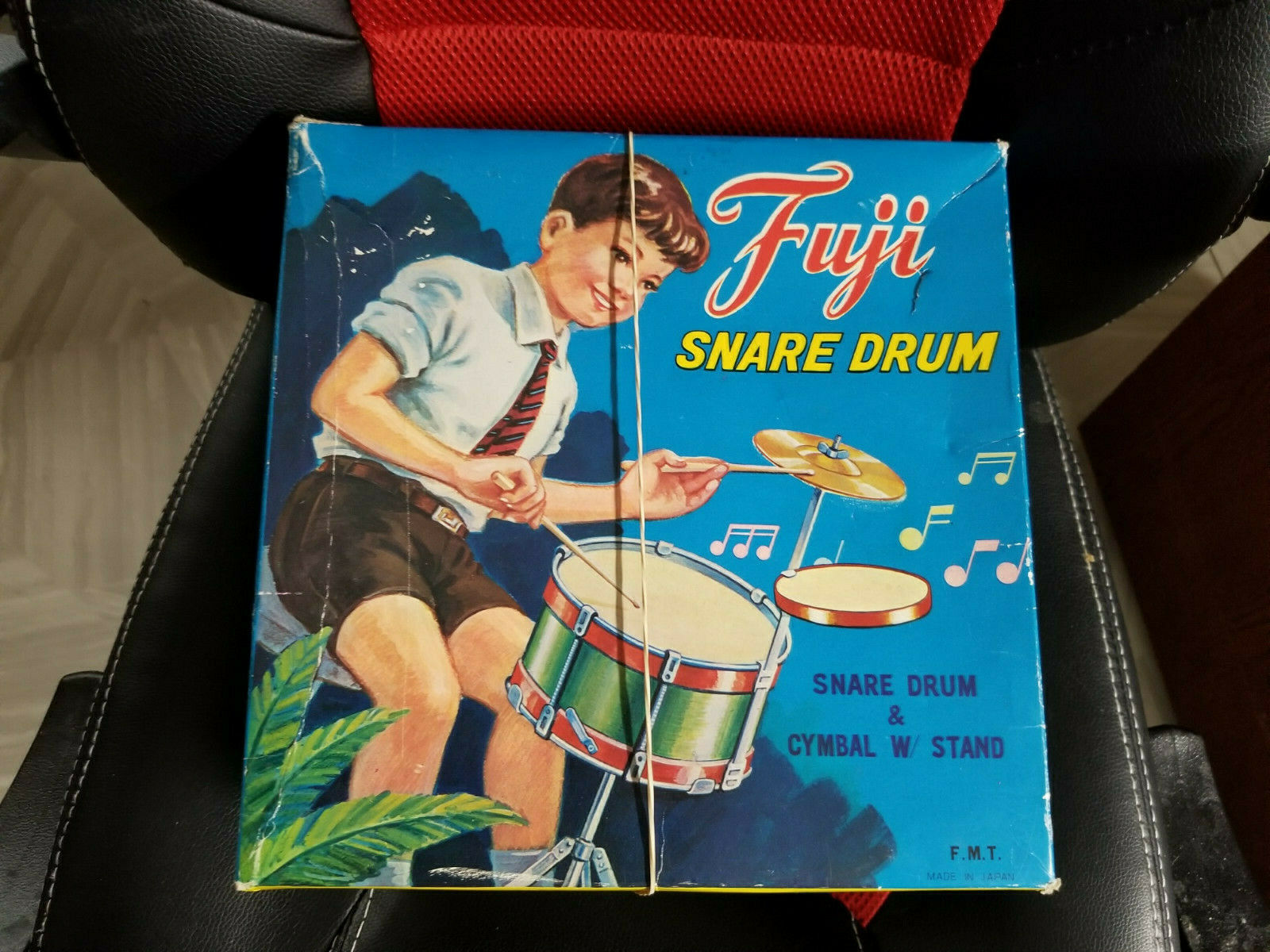 FUJI SNARE DRUM IN ORIGINAL BOX COMPLETE NEAR MINT RARE FIND