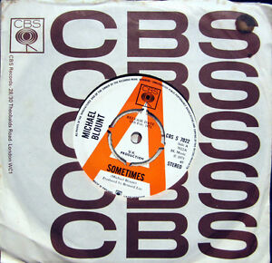 Single / MICHAEL BLOUNT / PROMO / RARITÄT / 1971 /