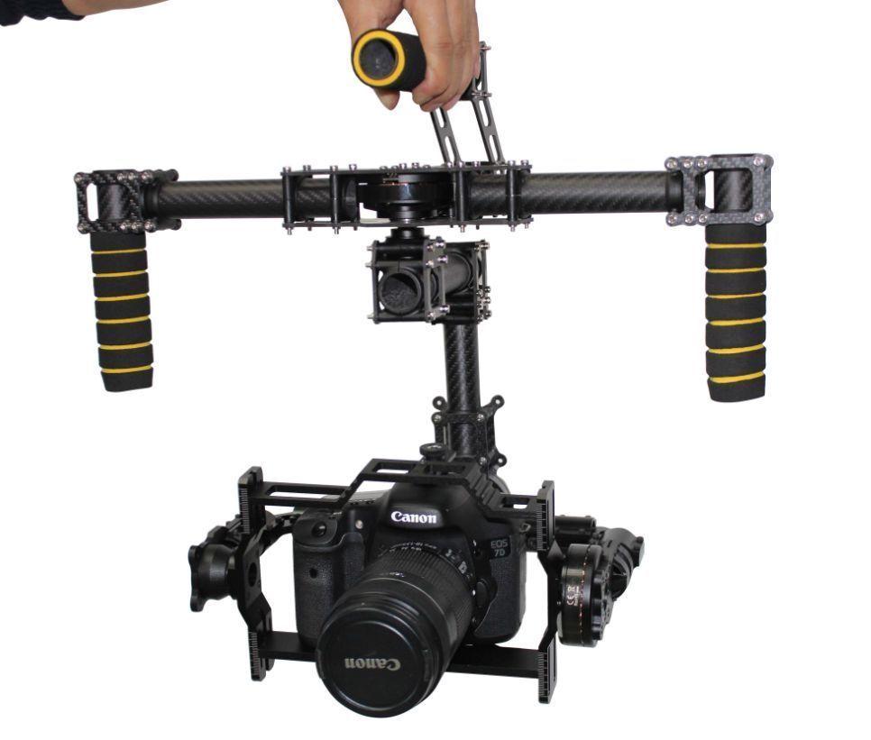 Eagle Eye 3-Axis Brushless Gimbal Camera Mount Stabilizer 5D2 DSLR Run Movie
