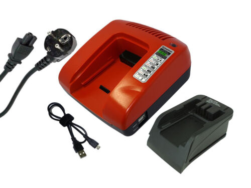 Rot 7.2-18V Ladegerät für Black /& Decker XD1200K XTC183BK BDG1200K BDGL1800