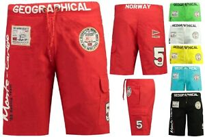 Geographical-Norway-Uomo-schwimmshorts-Costume-Bagno-Shorts-Bermuda-Pantaloncini-qu-a