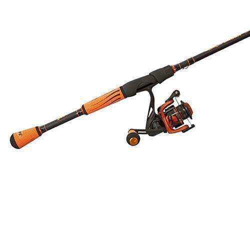 Lew's Mach Crush Speed Spin Combo with 7' M Rod and 6.2 1 Ratio Spinning Reel