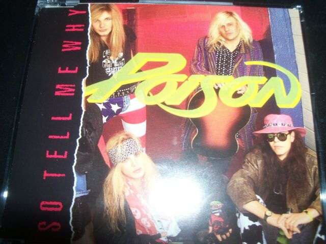 Poison – So Tell Me Why CD Single – Like New