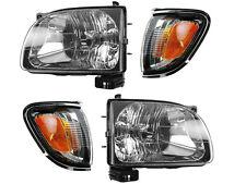 Toyota Tacoma 2001 2002 2003 2004 Head Light Chrome Trim Corner Light 4 Pc Set