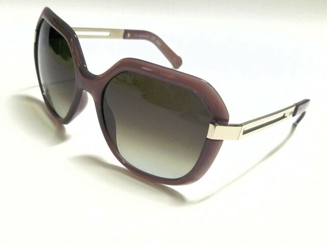 2a6bbfb29632 New Authentic Chloe CE661S 272 Turtledove Brown Gradient 57mm Sunglasses