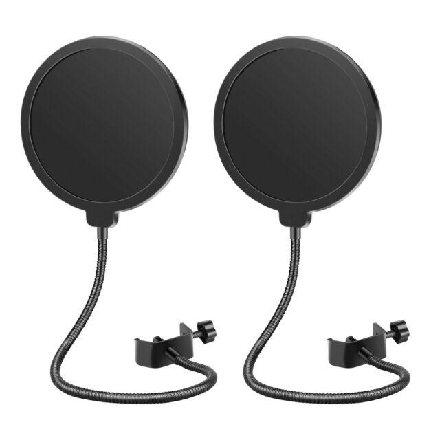 B-3 Neewer NW 6 inch Studio Microphone Mic Round Shape Wind Pop Filter Mask