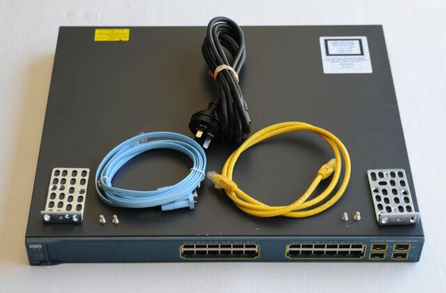 CISCO WS-C3560G-24TS-S L3 Latest IOS Catalyst 3560G Gigabit Switch -1YrWtyTxInv