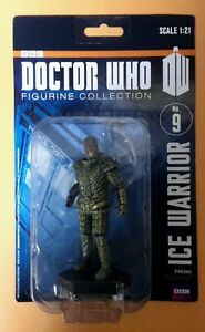 Doctor Who Eaglemoss Figurine Collection - Ice Warrior 1:21 scale #9 in series