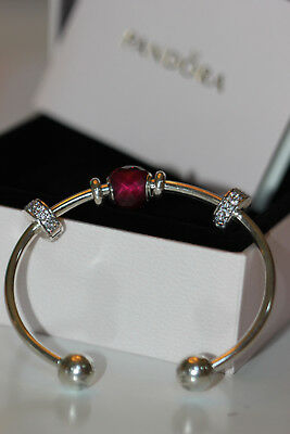 Be Mine Open Bangle Bracelet Charm